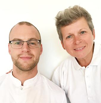 Marion Janssen en Roger van Wissen